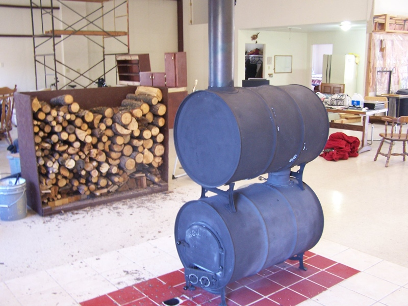 Barrel Wood Stove WB Designs - Barrel Wood Stove WB Designs